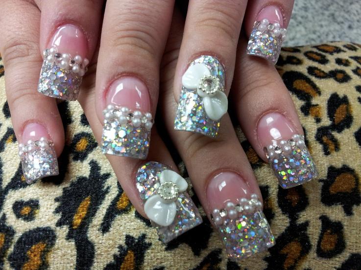 3d decoraciones uñas