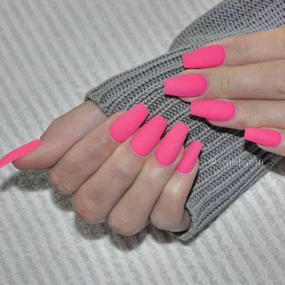 decoracion uñas neon