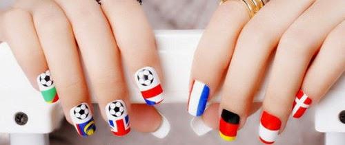 diseños uñas para deportistas