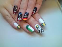 ultimas imagenes uñas decoradas deportivas