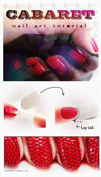 modelos de uñas rojas