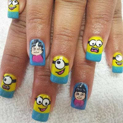 decoraciones uñas minions