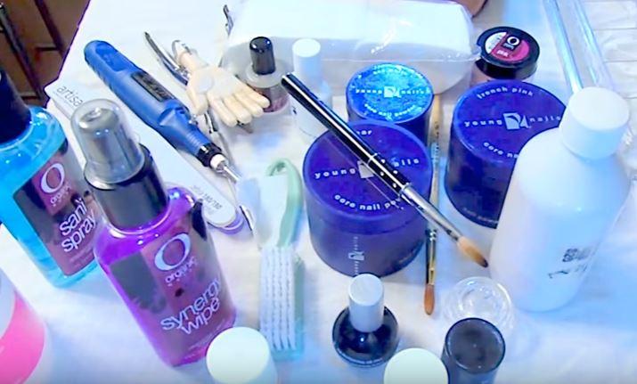 Materiales Para Realizar Uñas Acrílicas Diseños De Uñas