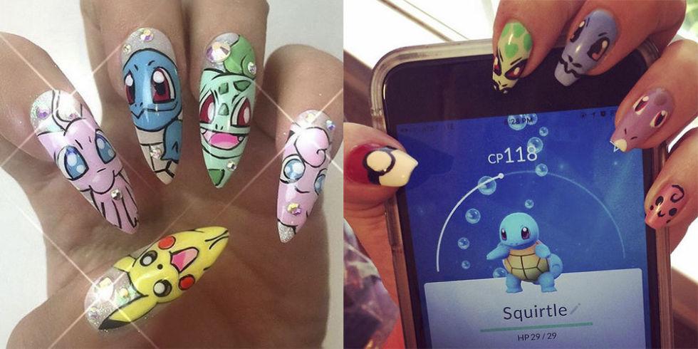 pokemon go nail