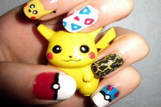 Uñas Pokemon 2 Diseños De Uñas Decoradas