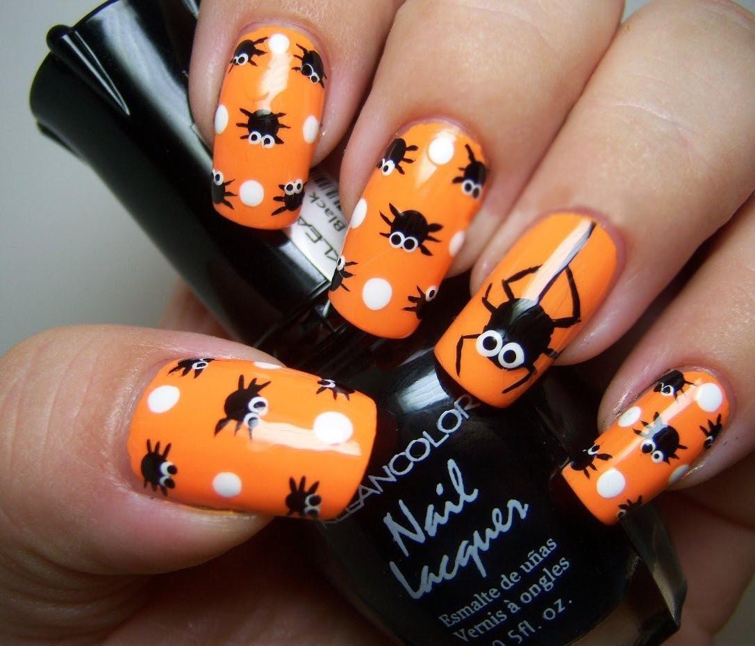 Diseños De Uñas Terroríficos Para Halloween