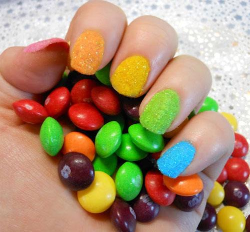 velvet en uñas