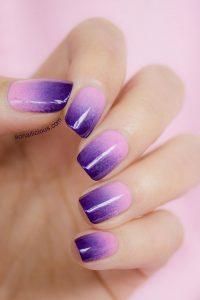 Uñas En Color Violeta Diseños De Uñas Decoradas
