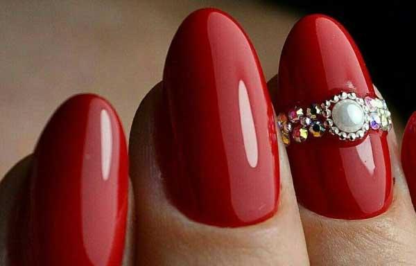 Color Rojo Para Las Uñas Diseños De Uñas Decoradas