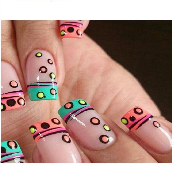 marcadores para uñas de ensueño variaods