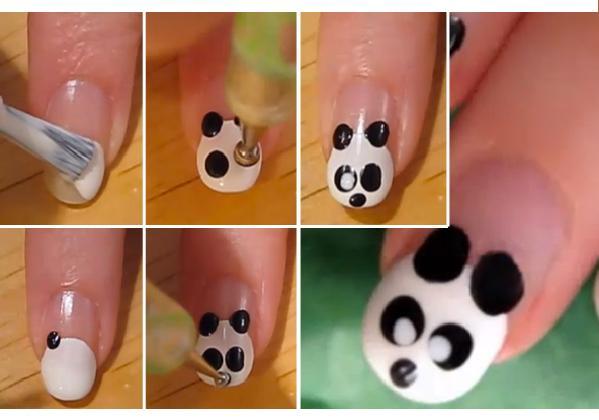 Divertidos Diseños De Uñas Decoradas Con Animales